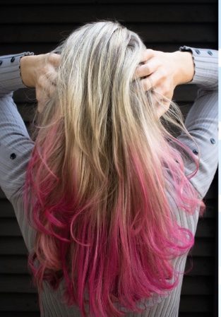 Colored Hair Extensions…Just For Fun
