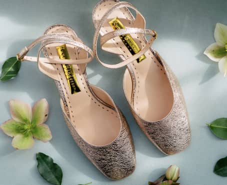 Shimmery Summer Shoes…Just for Fun